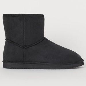 Airwalk Black Ugg Style Boots